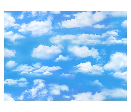 Sky Light Blue    Landscape Collection   Elizabeth's Studio