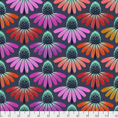 Echinacea Glow | Hindsight Collection | Free Spirit Fabrics