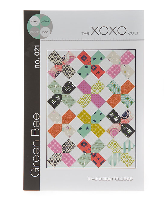 XOXO Quilt | Green Bee | Green Bee Patterns