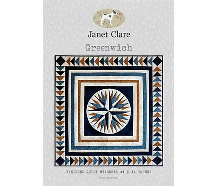 Greenwich | Janet Clare Quilt Patterns | Janet Clare