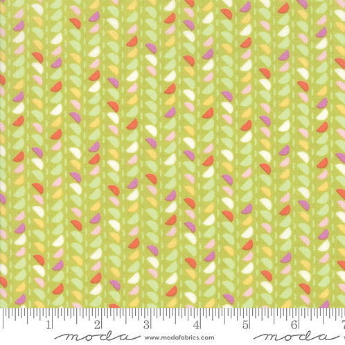Spidewinder Pistachio | Fine and Sunny Jen Kingwell | Moda Fabric