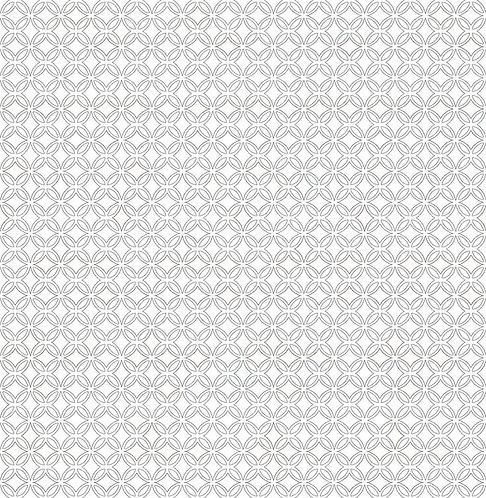 Tiny Cathedral Window in Black and White | Count on Me | STOF Fabrics