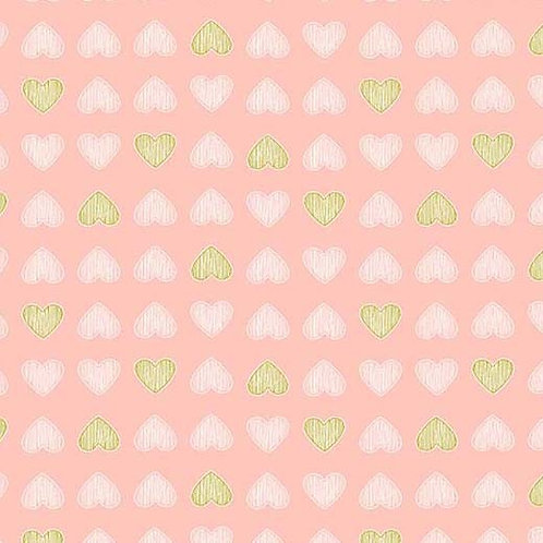 Heart of Gold in Blossom | Believe Collection| Michael Miller Fabrics