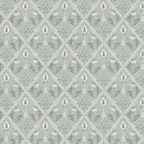 Trellis on Mint | Original Morris Mineral Collection | Free Spirit Fabrics