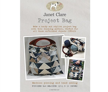 Project Bag | Janet Clare Quilt Patterns | Janet Clare