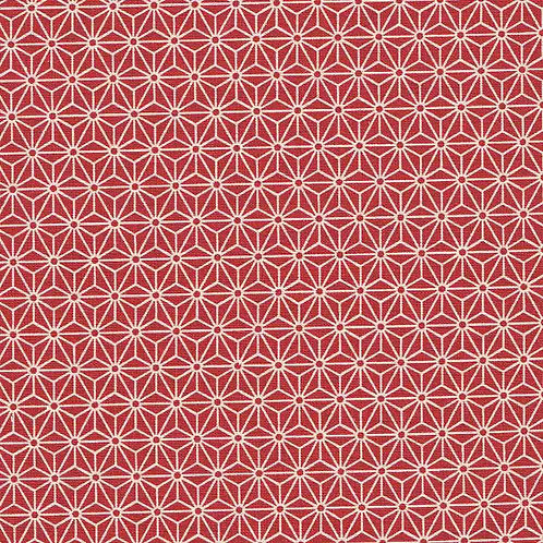 Sevenberry Geo Pattern in Red | Sevenberry Collection | Robert Kaufman
