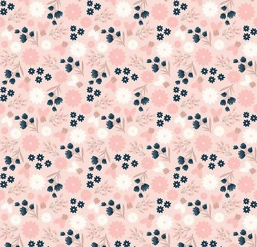 Sparkle Floral in Pink | Blush | Riley Blake Designs