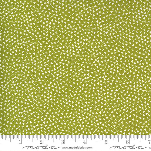 Green with White | Spring Chicken Collection | Moda Fabrics