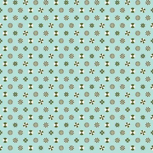 Peppermint Stars | Tula Pink - Holiday Homies | Free Spirit Fabrics
