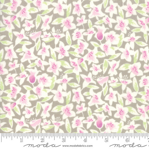Blossom Silver | Fine and Sunny Jen KIngwell | Moda Fabric