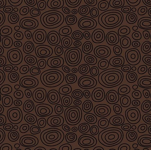 Ellipse Ring in Brown | Bear Essentials 3 | P&B Textiles