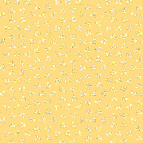 Star Flower Yellow | Annabella Collection | Andover Fabrics