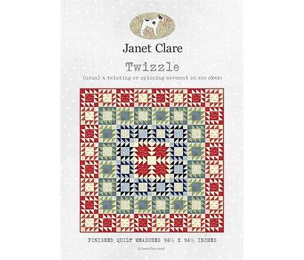 Twizzle | Janet Clare Quilt Patterns | Janet Clare