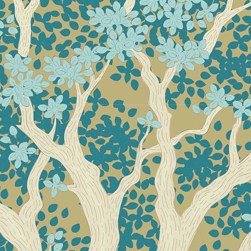 Juniper Teal | Woodland Collection | Tilda