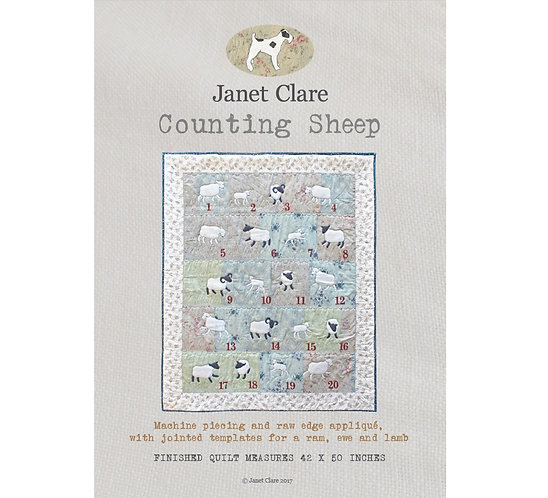 Counting Sheep | Janet Clare Quilt Patterns | Janet Clare