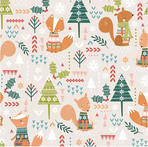Squirrels & Foxes | Christmas Party Collection | Dashwood Studio