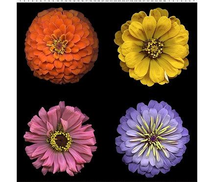 Digital Blooms Panel | Flower Power | Clothworks