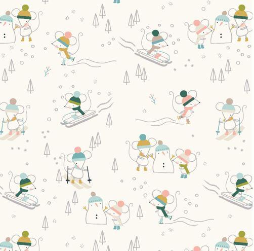 Snow Mice | Christmas Party Collection | Dashwood Studio