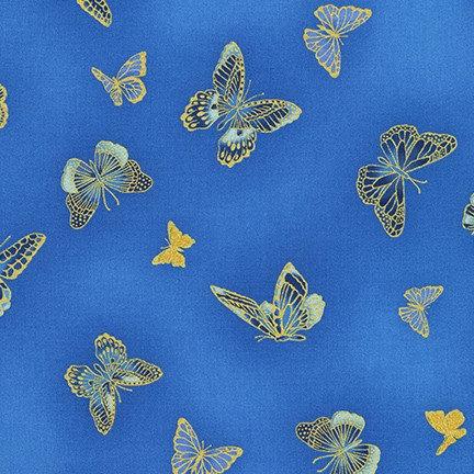 Butterflies on Blue | Bella Mariposa by Studio RK | Robert Kaufman