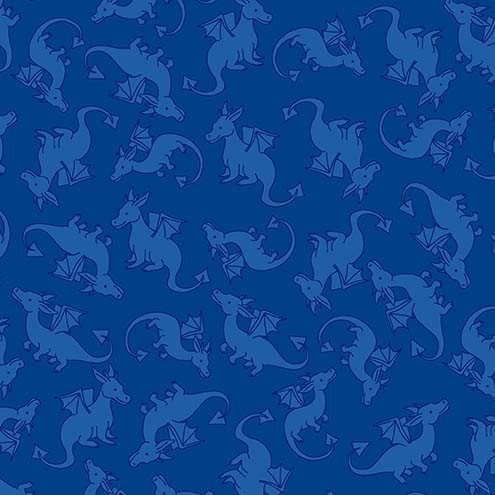 Dragon Warriors | Dragons Rule Collection | Michael Miller Fabrics