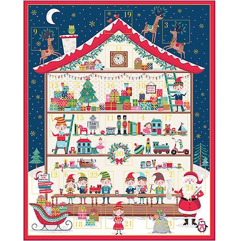 Santa's Workshop  | Advent  Collection | Makower