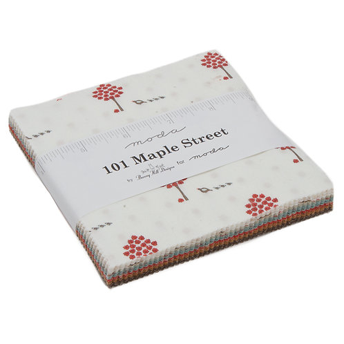 "101 Maple Street - 5"" Charm Pack by Moda Fabrics"