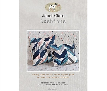 Cushions | Janet Clare Quilt Patterns | Janet Clare