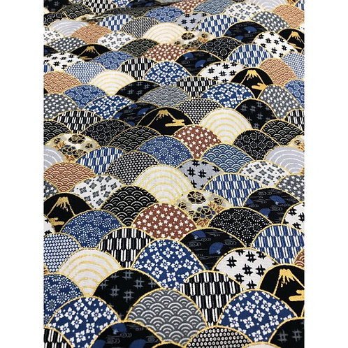 Tenku Navy | Japanese Prints Collection | Nutex
