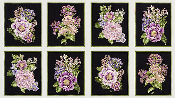 Block Panel in Lavender | Avery Hill Collection | Robert Kaufman Fabrics