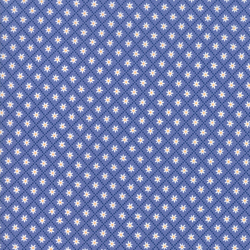 Daisy Trail Periwinkle | Summer Picnic by Stacy Iest Isu | Moda Fabrics