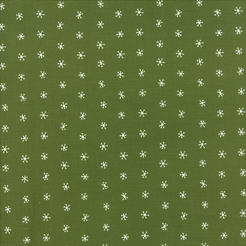 Holly Snowflakes | Merriment Collection | Moda Fabrics​​​​