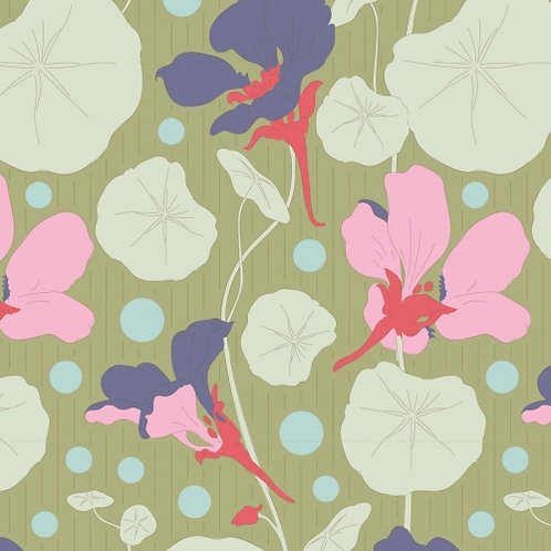 Nasturtium Green    Garden Life Collection   Tilda