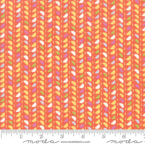 Spidewinder Persimmon | Fine and Sunny Jen Kingwell | Moda Fabric