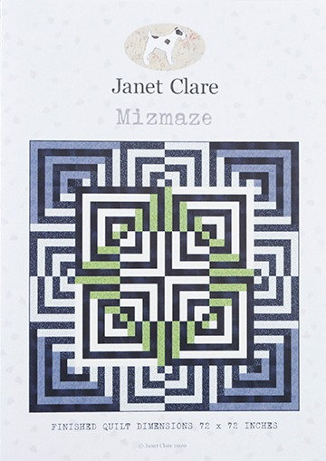 Mizmaze | Janet Clare Quilt Patterns | Janet Clare