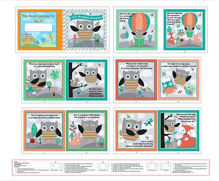 Book | Owl's Woodland Adventure | Studio E