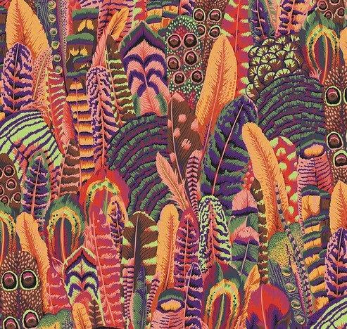 Feathers Summer   Kaffe Fassett Collective   Free Spirit Fabrics