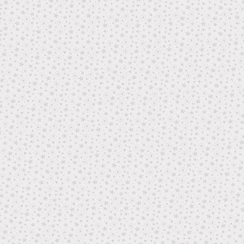 Tiny Hearts on Pearl | Bedrock Basics Lynette Anderson | Nutex Fabrics