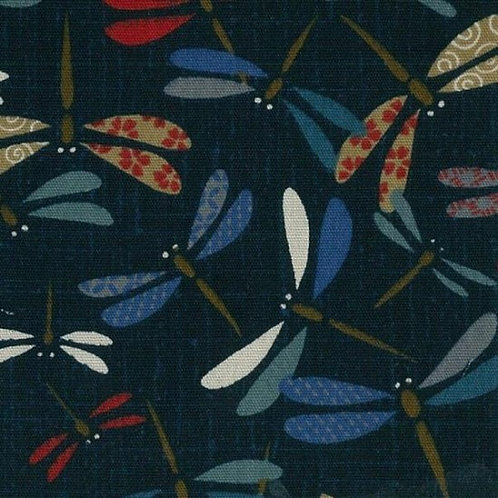 Dragonfly Indigo | Japanese Prints Collection | Nutex