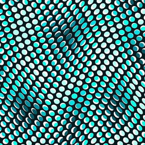 Quilters Coordinates- Aqua Dots | Quilters Coordinates Collection | STOF Fabrics
