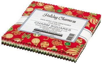Holiday Charms   Charm Square   Robert Kaufman