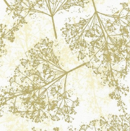 Papyrus in Cream & Gold | Sparkle & Fade | Hoffman Fabrics