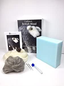 Herdwick Sheep Needle felting kit   Rare Breeds Collection   Craftwerk