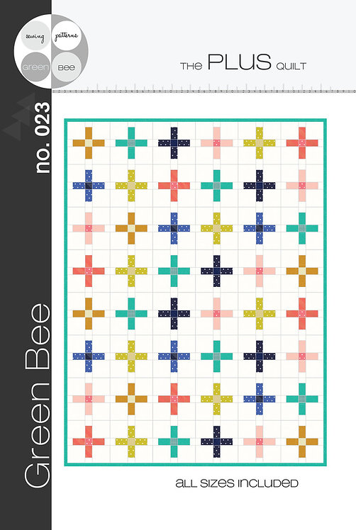 The Plus Quilt | Green Bee | Green Bee Patterns