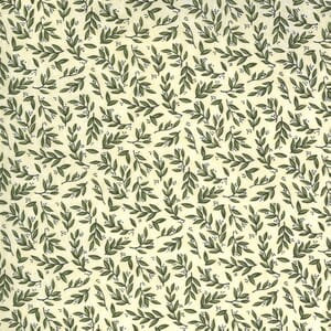Scattered Leaves - Eggshell   Violet Hill Collection   Moda Fabric