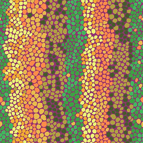 Pebble Mosaic Jungle | Kaffe Fassett Collective | Free Spirit Fabrics