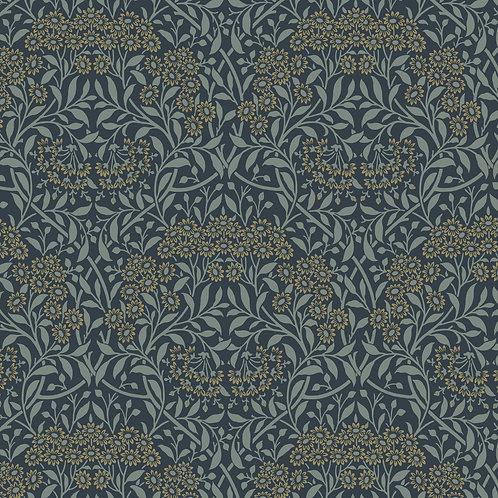 Michaelmas Daisy Navy | Original Morris Mineral Collection | Free Spirit Fabrics