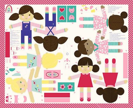 Best Friends Forever Panel   Moda Fabrics