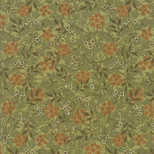 Jasmine in Sage | Morris Garden Collection | Moda Fabrics