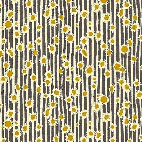 Sunflowers in Dusk | Mazy Collection | Windham Fabrics
