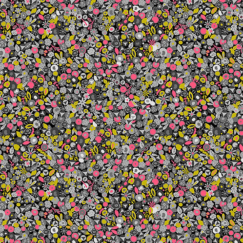 Tuesday in Hellebore | Sunprints 2021 by Alison Glass | Makower UK